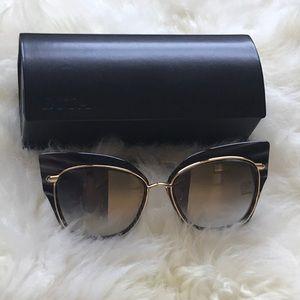 Dita Stormy Cat Eye Designer Sunglasses